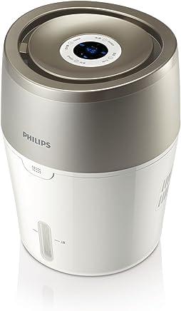 Philips 飞利浦加湿器 上加水 自动湿度设置 湿度数显 纳米无雾恒湿 静音卧室办公室家用加湿 HU4803/00