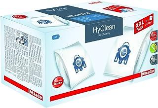 Miele Original Zubehör GN XXL HyClean 3D Staubbeutel / filtert mehr als 99,9 prozent aller Feinstaubpartikel / 16 Staubbeutel, 4 Motorschutzfilter, 4 Abluftfilter / für Staubsauger / Blau