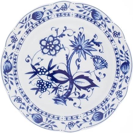 Preisvergleich für Kahla Rossella Frühstücksteller, Teller, Porzellan, Zwiebelmuster, 21 cm, 173404A72067U