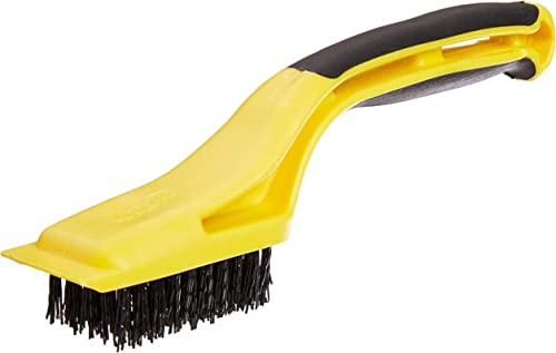 2021 Hyde Tools 46804 Flexible Nylon Stripping Brush with Plastic online sale Scraper and 1-1/8-Inch x 2-1/4-Inch Brush lowest Area Pack of 4 online