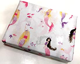 Cynthia Rowley Kids GIRLS 4-pc. Full Size Sheet Set featuring Mermaid Princesses   100% Easy-Care Cotton