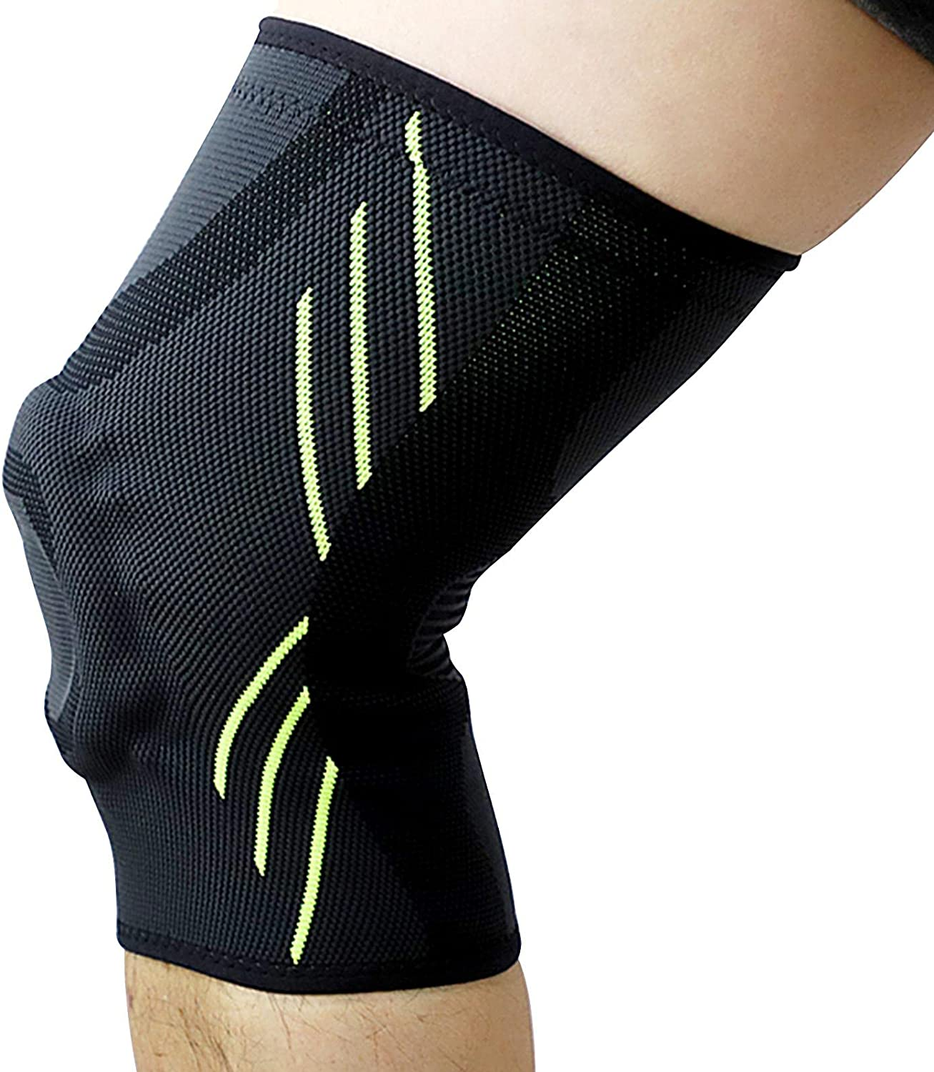 Knee Brace Sleeves OFFicial shop Silicone Support Women for Very popular! Gel with Pad