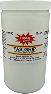 Non-Skid Paint Additive - Quart for 5 gallons - FINE Anti-Slip Particles Fas-Grip