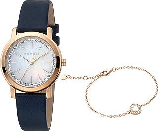 ساعة كلارا عصرية كوارتز للنساء من اسبريت - موديل ES1L188L1025