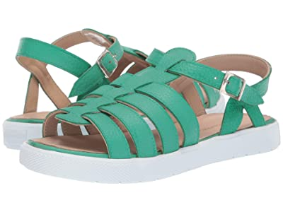 Elephantito Venetto Sandal (Toddler/Little Kid/Big Kid) (Green) Girls Shoes