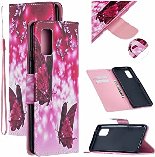 CRABOT Reemplazo para Samsung Galaxy S20FE 4G/5G/S20Lite Funda de Cuero PU Plegable Cartera Cierre Magnético Ranura para T...