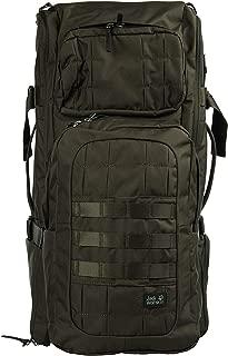 Jack Wolfskin TRT 65L Tough, Rough, Technical Internal Frame Travel & Trekking Backpack, Pinewood