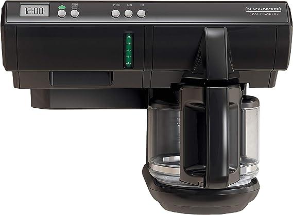 black decker 12 cup cabinet coffee maker