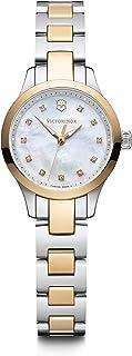 Victorinox Women's Alliance Swiss Quartz Watch with Stainless Steel Strap, Silver, 12 (Model: 241877)