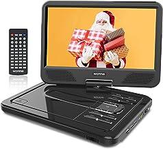 WONNIE 2021-Aufgerüstet 10,5 Zoll Tragbarer DVD Players mit 270° Schwenkbaren..