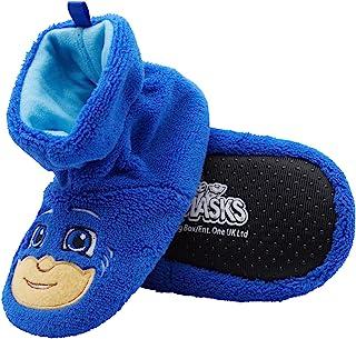 PJ Masks Boys Socktop Slippers - PJMASKS Catboy, Owlette, Gekko Toddler Slippers