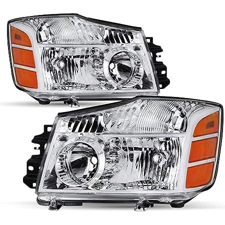 Fits 2004-2015 Titan 2004-2007 Armada Passenger Right Side Headlight Replacment