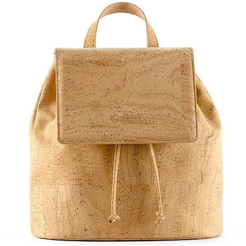 Corkor Vegan Backpack Purses for Women| Cruelty Free Cork Handbag