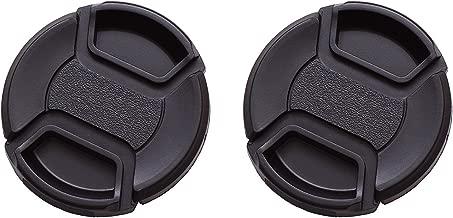 IMZ Lens Cap Bundle - 2 x 77MM Front Lens Filter Snap On Pinch Cap Protector Cover for DSLR SLR Camera Lens 77x2