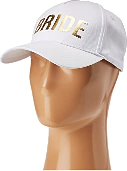 Betsey Johnson Blue By Betsey Johnson Bride Baseball Hat