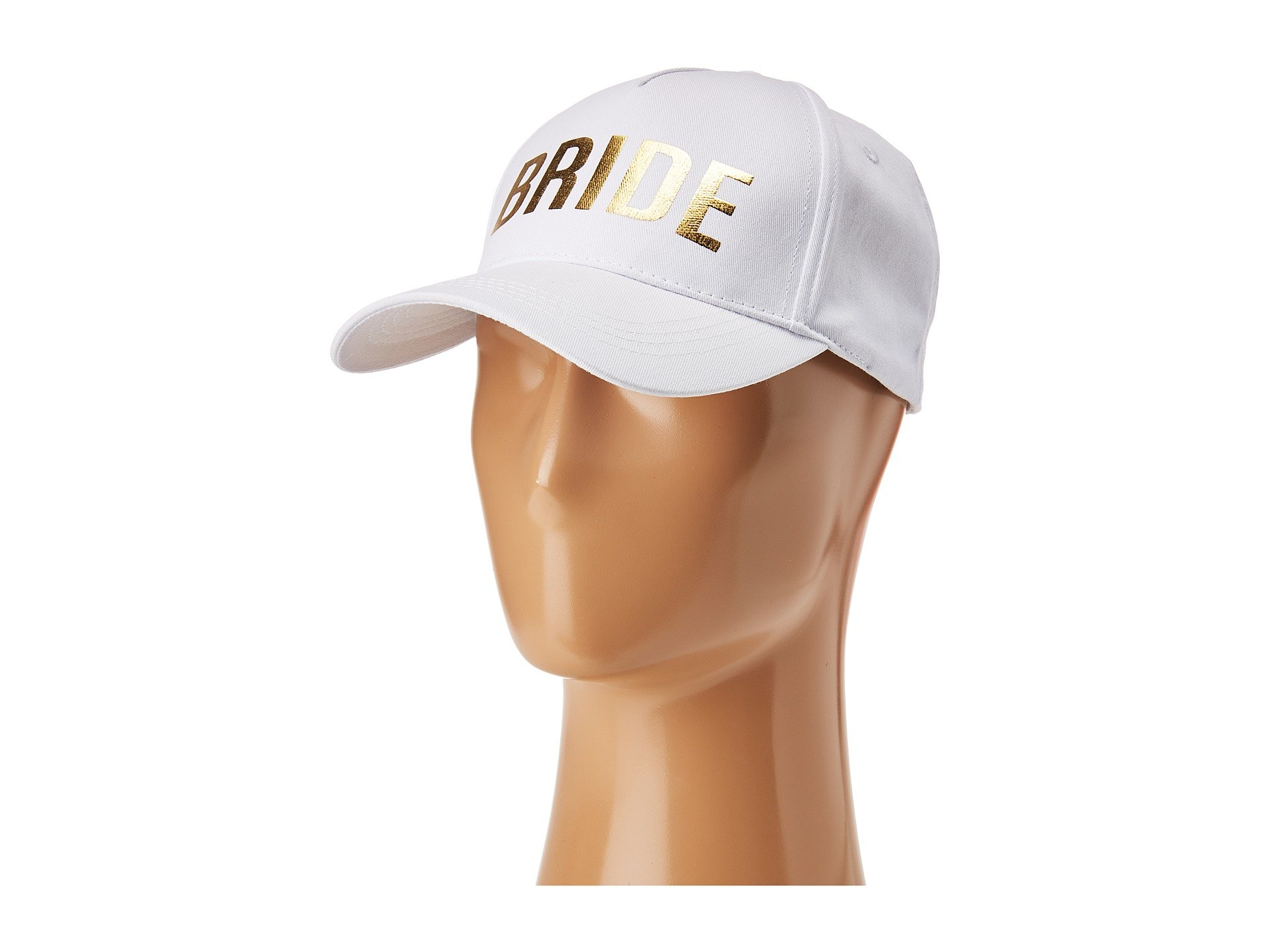 68b07216ebb21 30. Betsey Johnson. Blue By Betsey Johnson Bride Baseball Hat