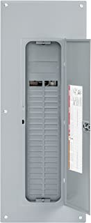 Square D by Schneider Electric HOM4080L225PC Homeline 225 Amp 40-Space 80-Circuit Indoor Main Lugs Load Center with Cover (Plug-on Neutral Ready),