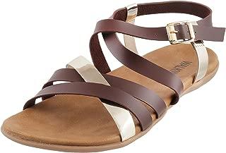 Walkway Women Black Synthetic Sandals (33-11009)
