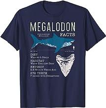 Megalodon T Shirt | Meg Facts Funny Shark Lover T-Shirt Gift