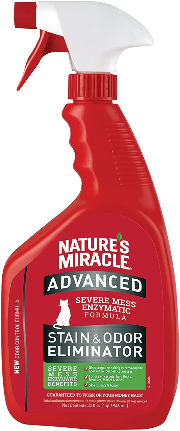 Nature's Miracle Advance Cat Stain and Odor Eliminator 32 oz