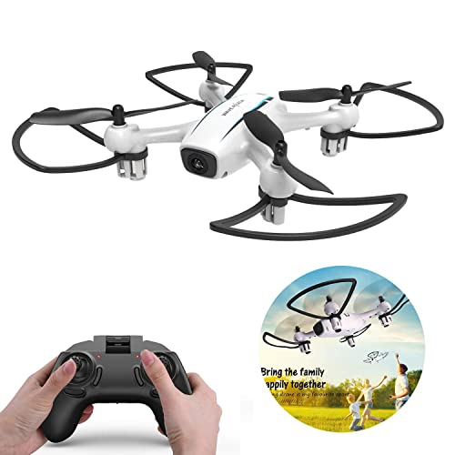 WINGLESCOUT Remote Control Drone for Beginners,RC Quadcopter with Altitude Hold,3D Flips,One Key Take Off/Return and Excellent LED Light for night Flight,Best Helicopter