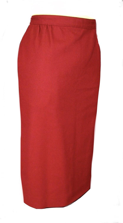 Austin Reed Burton Skirt Women S Petites Red Clothing Amazon Com