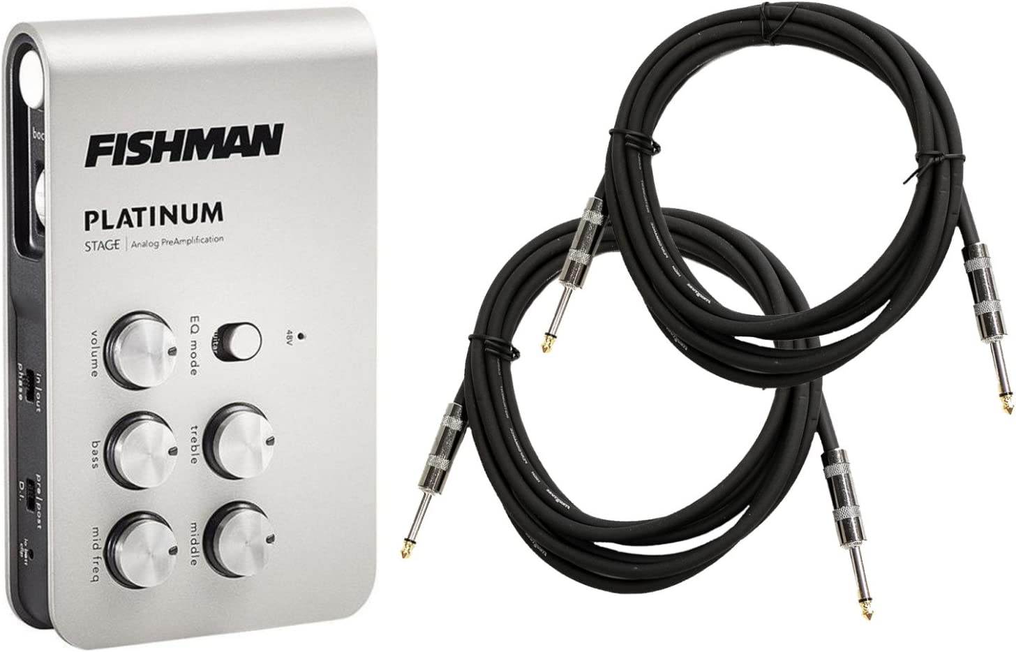 Max 69% OFF Fishman Platinum Stage EQ 2 Cables DI with Beauty products