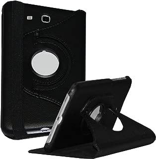 Galaxy Tab E 9.6 case - JYtrend (R) Rotating Stand Cover for Samsung Galaxy SM-T560 T561 T565 SM-T567 SM-T567V SM-T567VZKAVZW (Black)