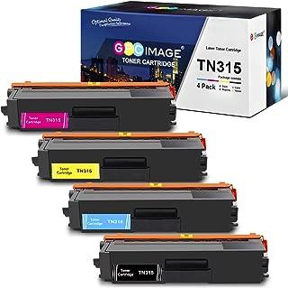 GPC Image Compatible Toner Cartridge Replacement for Brother TN315 TN-315 TN315BK TN310 Toner Cartridge to use with MFC-9970CDW HL-4570CDW HL-4150CDN MFC-9560CDW MFC-9460CDN Toner Printer (4-Pack)