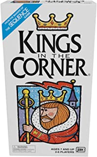Kings in the Corner - The Traditional Gameplay of Solitaire with a Twist, for the Whole Family!