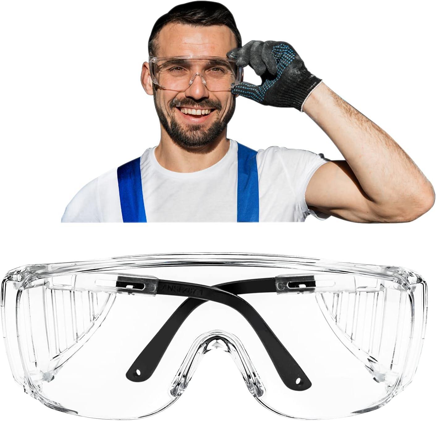 B.ANGEL New item Anti-Fog Safety Glasses shopping Protec Adjustable Eyewear Temple