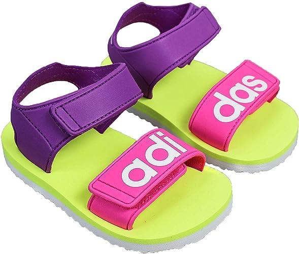 adidas Plage Sandales Enfants Tongs de Piscine Chaussures D' Été ...