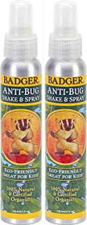 Badger Anti-Bug Repellent Spray - 4 oz, 2 Pack