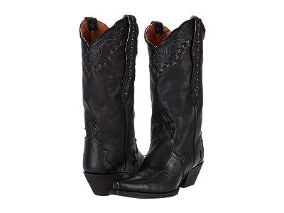 Dan Post Amore (Black Leather) Women