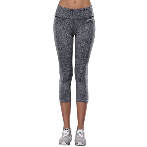 ecad6b06a12639 Aenlley Women's Activewear Yoga Pants High Rise Slim Fit Tights Cropped Ca's