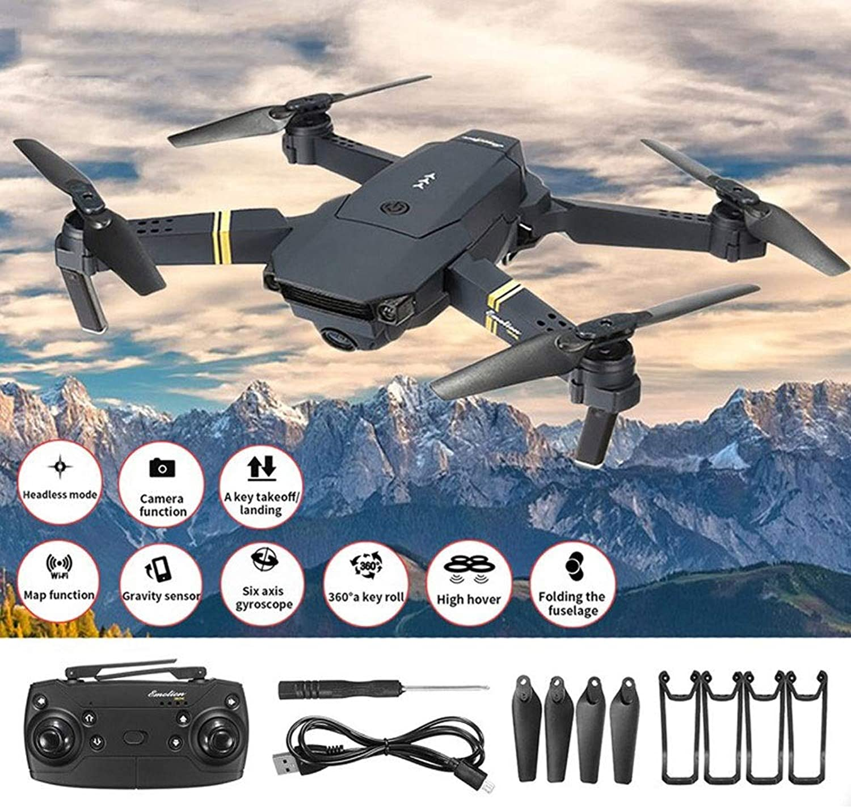 distribución global KY Drone con Camara Camara Camara HD 1080P WiFi FPV con Brazo Gran Angular Cámara HD Modo de Alto Control Plegable Quadcopter  hasta 60% de descuento