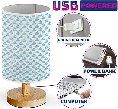 Modern Table Lamp Brushed Steel Asymmetry White Linen