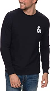 Jack & Jones Men's Jjechest Crew Neck Sweatshirt
