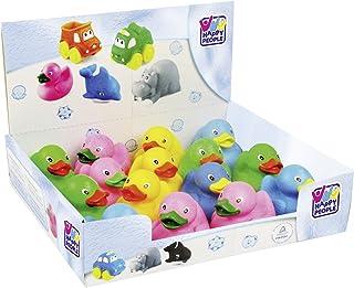 Happy People 40189 12 Pieces Tp-Bathing Duck, Multi-Color