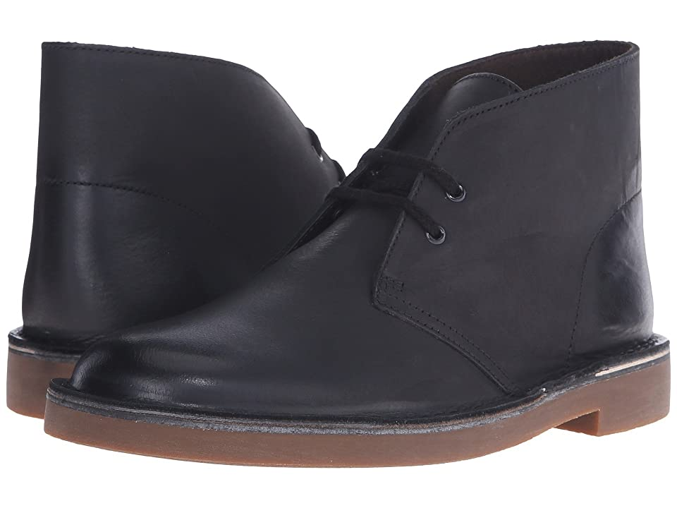 Clarks Bushacre 2 (Black Leather) Men