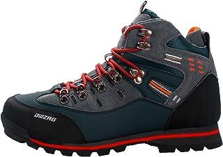 LangfengEU Chaussures de randonnée Hommes Automne Hiver Escalade Bottes de Trekking Haut Haut en Plein air Mode décontract...