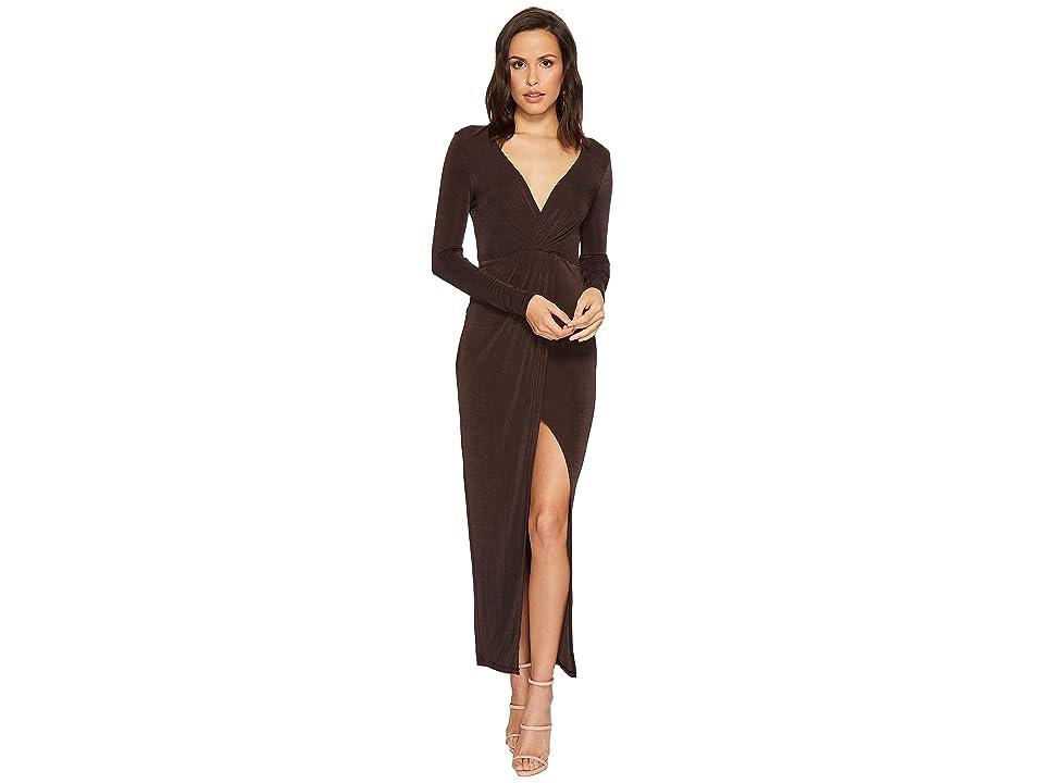 ASTR the Label Valerie Dress (Coal) Women