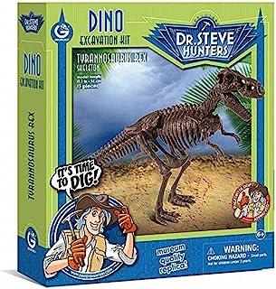 Geoworld 625262 – Dr. Steve Hunters: Dinosaur Excavation Kit – T-Rex Skeleton