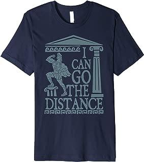 Hercules Go The Distance Greek Art Premium T-Shirt