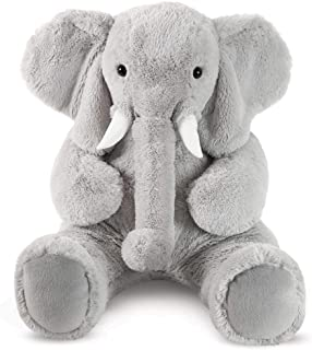 Vermont Teddy Bear Giant Stuffed Animals - Elephant Stuffed Animal, 4 Foot, Cuddle