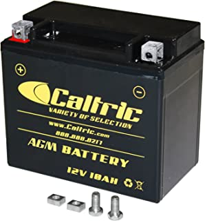 CALTRIC AGM BATTERY compatible with HONDA VF750C VF-750C Magna 750 1994-2003