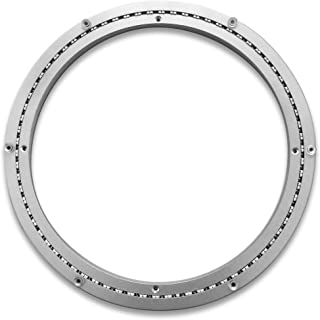 Heavy-Duty Aluminum Lazy Susan Ring/Turntable with Single-Row Ball Bearings for Heavy Loads, 16-Inch