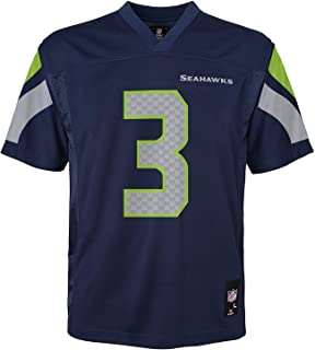 Russell Wilson Seattle Seahawks NFL Youth Navy Home Mid-Tier Jersey