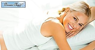 Dream-Cloud Premium Almohada de Espuma de Memoria de Base biológica Hecha de Espuma de Memoria basada en Plantas. Clase 1 Dispositivo Médico Europeo. 60x40x12cm. ¡Suave e irresistiblemente cómodo!