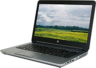 HP ProBook 645 G1 14in Laptop, AMD A6-4400M 2.7GHz, 4GB RAM, 128GB Solid State Drive, Win10P64, NO_CAM, NO_Touch (Renewed)